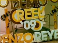 Renzo Reyes Showreel 2009 + Selected Works