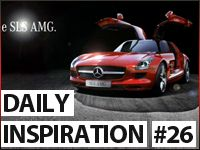 Daily MoGraph Inspiration / 26 / Mercedes Commercial Ads