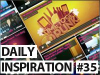Daily MoGraph Inspiration / 34 / Five Second Project Package