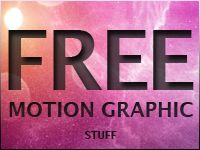 6 Great Motion Graphic Freebies