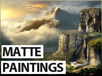 Matte Painting Inspiration Package