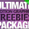 Ultimate Motion Graphics Freebies Package!