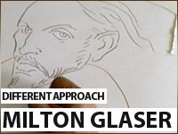 Milton Glaser Draws & Lectures – Different Approach / 1
